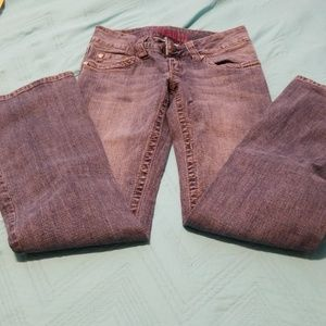 Hydraulic low rise flare 1/2S Jeans